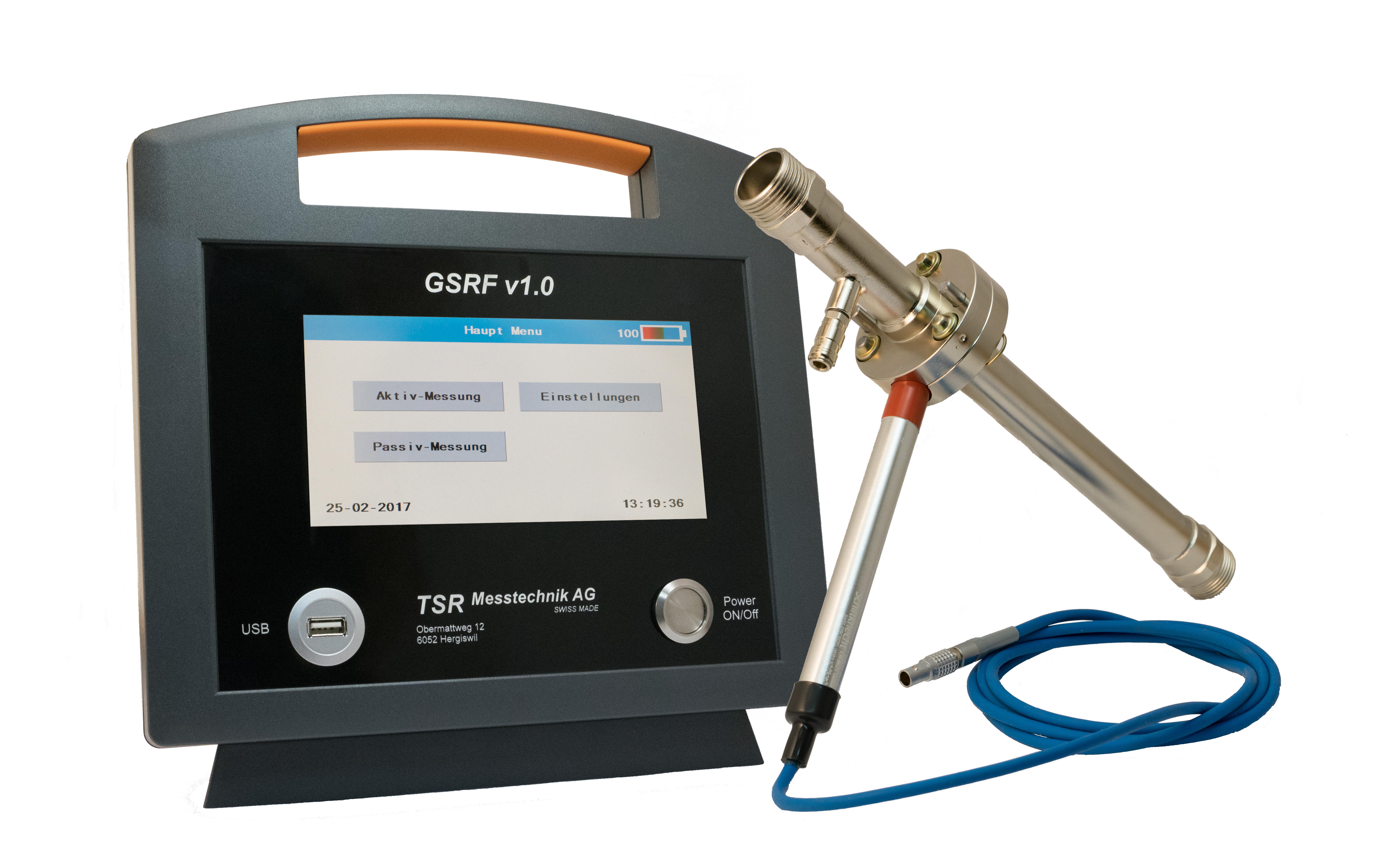 Gasrückführmessgerät